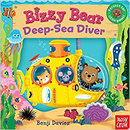 bizzy bear deep sea diver